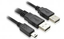 USB2.0 移动硬盘 USB数据线 0.8米