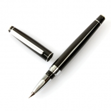 正品英雄98特细钢笔 黑