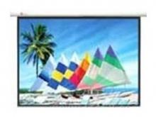 """SAMPLe HD100""""铝合金电动幕 投影幕"""