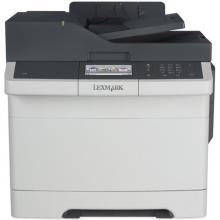 利盟(Lexmark) CX410de 彩色多功能一体机 打印/复印/扫描/传真
