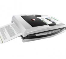 汉王(Hanvon)PL3800D文本仪 平板+馈纸式 高清扫描仪 文件书籍 自动进纸扫描