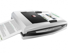 汉王(Hanvon)PL3200D文本仪 平板+馈纸式 高清扫描仪 文件书籍 自动进纸扫描