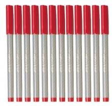 百乐 (PILOT)BL-5M条纹笔签字笔 超顺滑 0.8mm  12支装