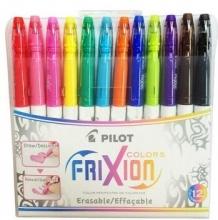 百乐(PILOT) SW-FC-S12 摩磨擦多彩画图笔 0.63mm涂鸦笔12支装 (12色)