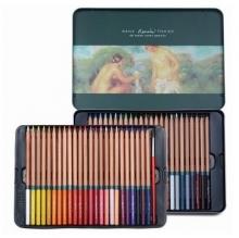 马可(Marco)3120-48TN 雷诺阿系列 水溶性48色彩色铅笔/填色笔 铁盒装
