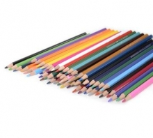 宝克(BAOKE)PW1648 水溶性彩色铅笔 12色/24色/36色/48色铁盒套装