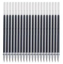 宝克(BAOKE) PS106E 子弹头通用中性笔芯黑色0.5mm 20支/盒