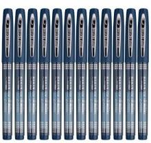 宝克(BAOKE) PC988 大容量医生处方笔 0.5mm 蓝黑色 12支/盒