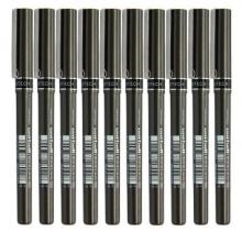 三菱(Uni) UB-155 (耐水防晒)中性笔(黑色/红色/蓝色) 0.5mm(10支装)