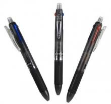 白雪(snowhite) G-010 黑蓝红三色中性笔 0.5MM 超值四支装