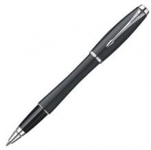 派克(PARKER) 都市 磨砂黑杆白夹宝珠笔