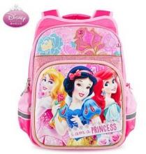 迪士尼(Disney)小学生双肩包1-3-4年级女童白雪公主减负护脊儿童背包 0278