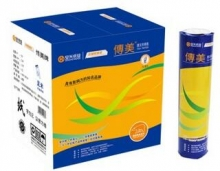 传美 210mmx30米 高清晰足米热敏传真纸 12卷/箱
