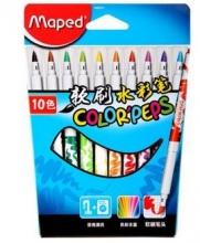 马培德MAPED 软刷水彩笔10色  848010