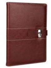 广博(GuangBo) 16K144页商务皮面本棕色/ 黑色 GBP16735