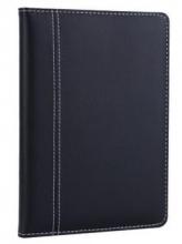 广博(GuangBo) 25K114页简约商务记事本皮面本黑色/ 棕色 GBP25730