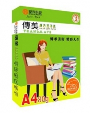 传美 A4 80G 彩色复印纸 单包装 500张/包