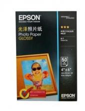 爱普生(EPSON) S042555 新一代光泽照片纸 6寸/50张
