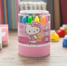 广博文具儿童无毒可水洗绘画彩色笔12色