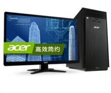 宏碁(acer)ATC705-N91 台式电脑(四核i5-4460 4G 500G R5-235 2G独显 DVD 键鼠 Win8.1)19.5英寸