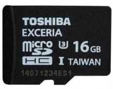 东芝(TOSHIBA) 16G EXCERIA TF(microSDHC)存储卡 U3 -95M/s 极至瞬速