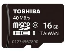 TOSHIBA东芝TF卡16G存储卡华为手机内存卡40M/S高速class10