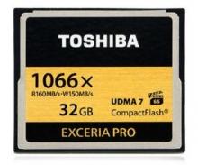 东芝 CF卡 32G 1066X 160M高速存储卡