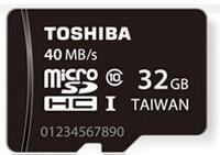 TOSHIBA东芝TF卡32G存储卡华为手机内存卡40M/S高速class10