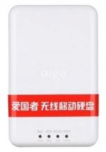爱国者(aigo) PB726S 500g 无线移动硬盘 无线路由器 移动电源USB3.0