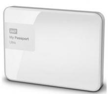 西部数据(WD)My Passport Ultra 升级版3T 2.5英寸 闪耀白 移动硬盘 WDBBKD0030BWT