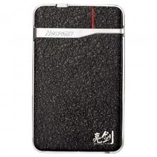 纽曼亮剑黑金版500G USB3.0不锈钢防震移动硬盘