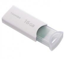 东芝(TOSHIBA)按闪系列U盘 16G USB2.0 白色