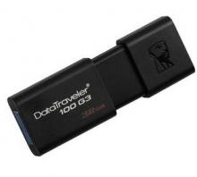 金士顿(Kingston)DT 100G3 32GB USB3.0 U盘 黑色
