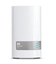 西部数据 WD MY CLOUD MIRROR 个人云存储设备 WDBZVM0120JWT_白色_12TB