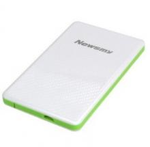 纽曼 NEWSMY MINI CARD吉云 1.8英寸移动硬盘 白绿 60GB存储
