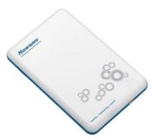 纽曼 NEWSMY 凌云OL 2.5英寸USB2.0 160G 移动硬盘 珍珠白