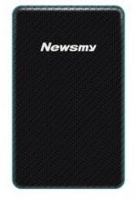 纽曼 NEWSMY MINI CARD吉云 1.8英寸移动硬盘 黑蓝 60GB存储