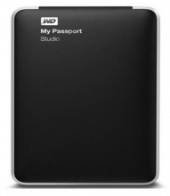 WD MY PASSPORT STUDIO 专业版 2.5英寸 WDBGJA0010BBK-PESN_黑色_1T