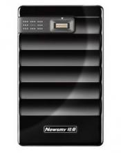 纽曼 NEWSMY 指纹王 加密型 2.5英寸移动硬盘 USB3.0 500GB 黑色