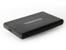 东芝 TOSHIBA 星礴系列2.5英寸移动硬盘 USB3.0_黑色_2T