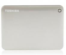 东芝 TOSHIBA V8 CANVIO高端分享系列2.5英寸移动硬盘 USB3.0_尊贵金_2T