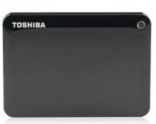 东芝移动硬盘 CANVIO CONNECTⅡ _黑色_1T