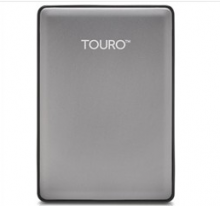 HGST 0S03700 TOURO S 7200 转移动硬盘_灰色_500G