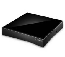 """希捷 SEAGATE 3.5英寸 PERSONAL CLOUD""""2-盘位"""" 6TB 个人云家庭媒体存储 黑色 STCS6000301"""