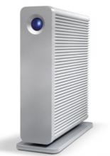 莱斯 LACIE D2 QUADRA 3.5英寸USB3.0桌面移动硬盘_银色_3T