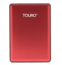 HGST 0S03784 TOURO S 7200 转 移动硬盘 _活力红_500G
