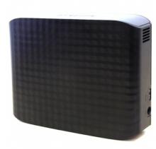 三星 SAMSUNG D3系列 3.5英寸 USB3.0 移动硬盘 HX-D401TDB G_黑色_4T