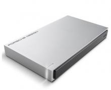 莱斯 LACIE PORSCHE DESIGN P'9223 2.5英寸 USB3.0 移动硬盘 _灰色_2T