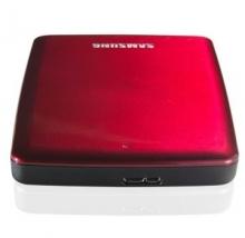 三星 SAMSUNG P3系列2.5英寸超高速USB3.0移动硬盘CV-HXMTD20E4C4_红色_2T