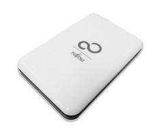 (Fujitsu)富士通外接式移动硬盘EH100_白色_1T